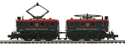 MTH 1:48 O Scale BB1 Electric Engine Pennsylvania Red Roof Train #20-5680-1
