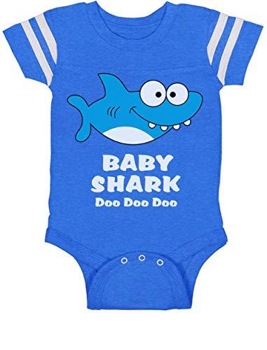 93fd24895d6f57 Tstars Baby Shark Song Doo doo doo Family Dance for Boy Girl Baby Jersey  Bodysuit 18M