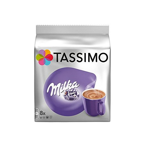 Tassimo Milka Chocolate (8 servings) (Pack of 4)