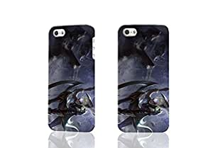 League of Legends Diana Scar 3D Rough New Design iphone 5/5s Case Skin, fashion design image custom iPhone5 5s, durable iphone 5 hard 3D case cover for iphone 5s Case