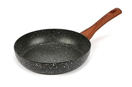 Magefesa 2454140031 - sarten clasica de acero esmaltado classic natura 26cm - gris