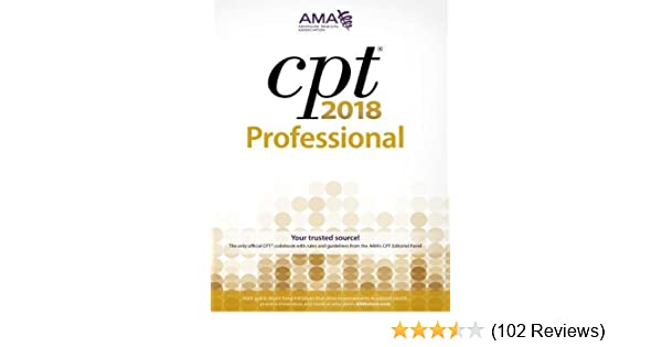 CPT 2018: Professional Edition (Cpt / Current Procedural Terminology