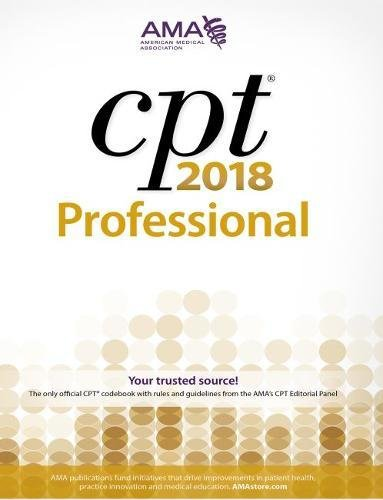 CPT 2018: Professional Edition (Cpt / Current Procedural Terminology (Professional Edition)) cover