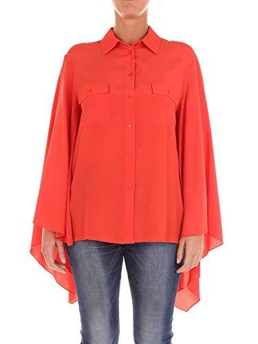 Mujer Naranja Camisa Acetato Pinko 1b12vy4926a99 xHYwq0WC