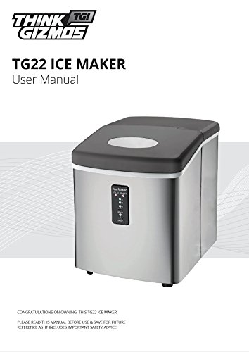 Ice Machine - Portable, Counter Top Ice Maker MachineTG22 - Produces ...