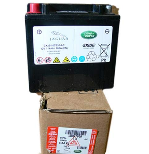 Genuine LAND ROVER BATTERY LR4 EVOQUE RANGE ROVER 13 on RANGE ROVER SPORT 14 ON LR047630 NEW