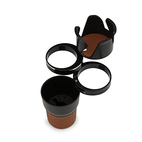 BENZEE 5 in 1 Multifunction Car Cup Holder Phone Drink Glasses Storage For TOYOTA COROLLA RAV4 Camry For HONDA Accord CRV CIVIC CITY For Mazda ATENZA AXELA - Accord Sunglass Holder Honda