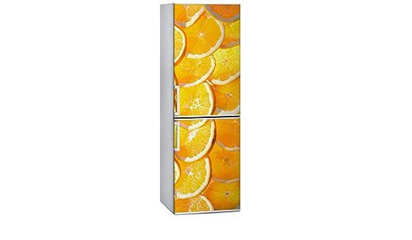 JKLI Patrón De Naranja 3D Autoadhesivo Lavavajillas Refrigerador ...