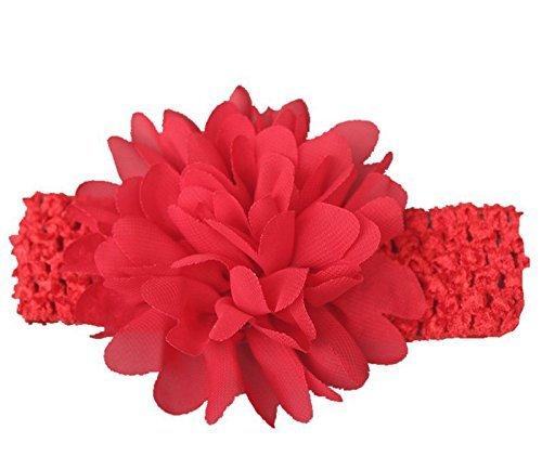 Rosa BeautyLifeⓇ 10 Pezzi Neonata della Fascia dellInvolucro della Testa Morbida Turbante della Fascia dei Capelli Puntelli PRO Foto