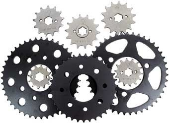 02-18 YAMAHA YZ85: JT Steel Front Sprocket (428 / 14T)