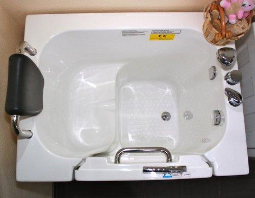 Vasca Da Bagno Apertura Laterale Prezzi : Anziani semicupio senior seggiolino per vasca da bagno vasca da
