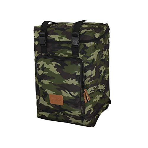 Echoslap Padded Cajon Backpack Bag - Green Camo