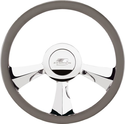 Billet Half Wrap Steering Wheel - Billet Specialties 30735 14