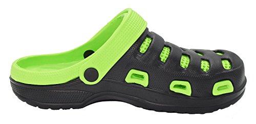 da Sandali Scarpe 10 Leggeri Disponibili Verde in Ultra Colori Uomo Donna Spiaggia Pantofole Kemosen Zoccoli tZ78Bqw
