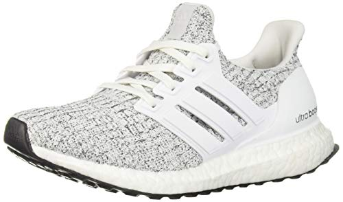 Adidas Originals Women's Ultraboost, white/white/neon-dyed, 9 M US