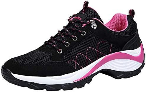 KOUDYEN Atlético Zapatos Chicas Mesh Zapatillas de Deporte Fitness Plataforma para Mujer,XZ006-black1-EU41: Amazon.es: Zapatos y complementos