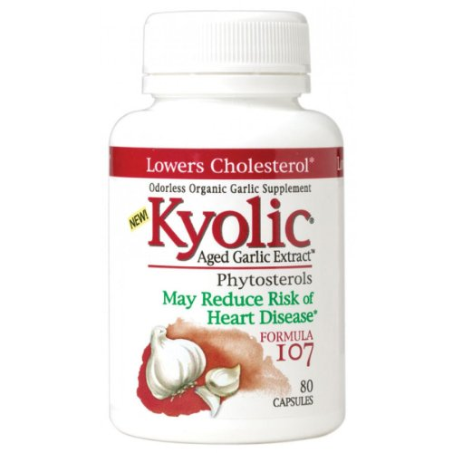 Kyolic ail Formule 107 en phytostérols (240 Capsules)