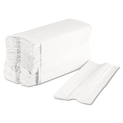 -[ White 2ply Luxury C Folded Hand Towels Case 2355 Towels  ]-