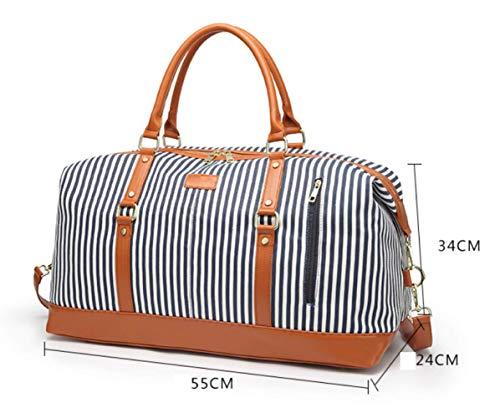 Voyage Casual Bandoulière Duffel XZWNB Grande à Multicolore Sac Capacité à PU Sac Main Laptop Bag Sw8qdwP