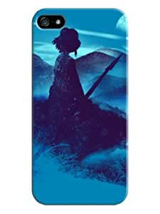 Everything Store DIY Girl hunter Blue Phone Shell Hard Case Perfect For iPhone 6 plus 5.5 Inch