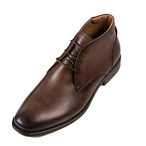 Nero Primo Chelsea Vacchetta E Uomo Piano 41 Stivali Pelle Brown Classic Autunno di in Oxblood Brogue Pelle Inverno Safety Boots 77ArxqEw