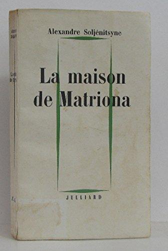 La Maison De Matriona [Pdf/ePub] eBook