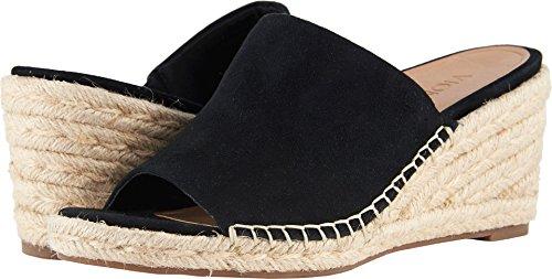 Vionic Tulum Kadyn - Womens Wedge Slip-on Sandal Black - 9 M