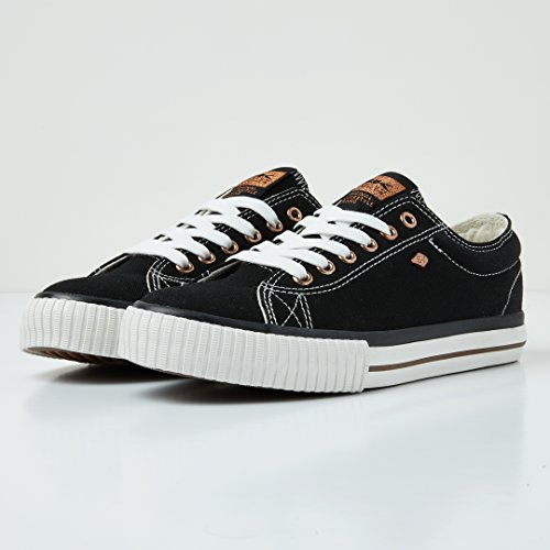 British Knights Master Lo Women's Low-Top Sneaker Black/Rose Gold Dq0wbcw9