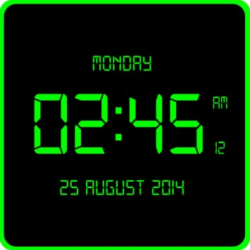 Amazoncom Led Digital Clock Live Wallpaper Appstore For