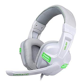 Gaming Headset Auriculares Juego Headset Headphone con Micrófono ...