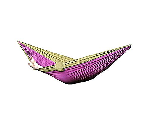 Hammocks Nylon Fabric Hammock Travel Sleeping for Double Person (Capacity Hammock Lb 800)