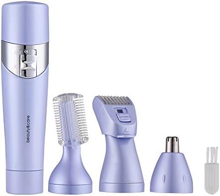 2 colores Removal portátil mujeres afeitadora eléctrica Depiladora ...