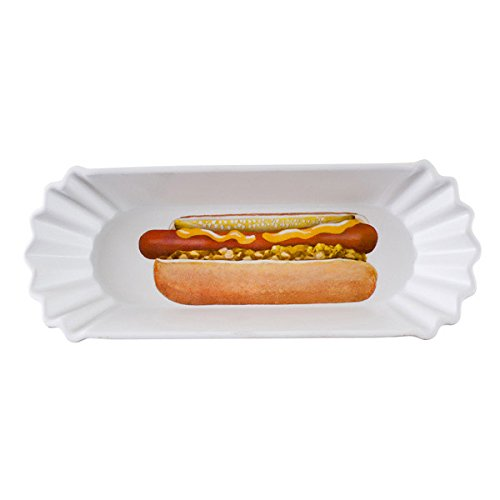 reusable hot dog tray - 3