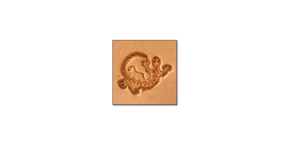 Tandy Leather Craftool Mini 3-D Stamp Southwest Lizard