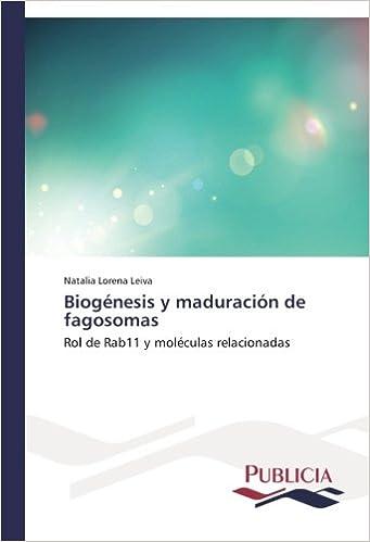 Biogénesis y maduración de fagosomas: Amazon.es: Leiva ...