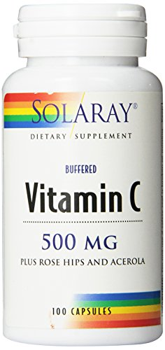 Solaray C Buffered Supplement, 500mg, 100 - Vitamin Acerola Plus