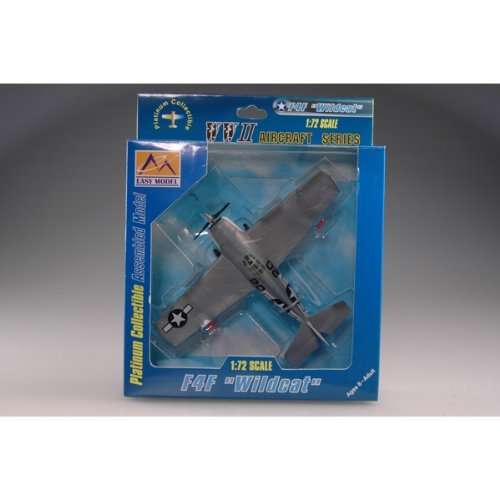 F4f 4 Wildcat Model - 1:72 F4f-4 Wildcat Vc-36 Uss Core Atlantic 1944 Jet
