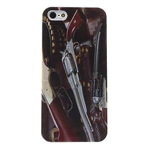 LCJ Pistol Pattern Hard Case for iPhone 5/5S