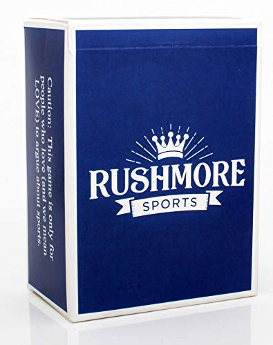 Rushmore Sports ~ A Sports Trivia Game Which Separates Boys from Men (Best Nba Trivia Questions)