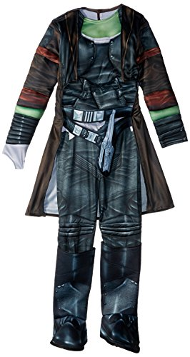 [Rubie's Costume Guardians of the Galaxy Vol. 2 Deluxe Child's Gamora Costume, Multicolor, Medium] (Galaxy Girl Costumes)