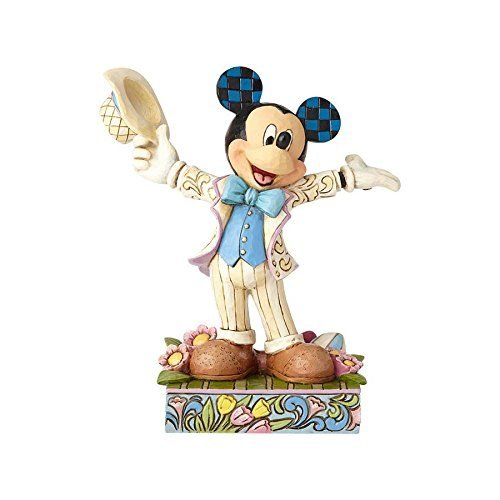 Easter Resin Figurine - Jim Shore Disney Traditions by Enesco 4059742 Spring Mickey Figurine