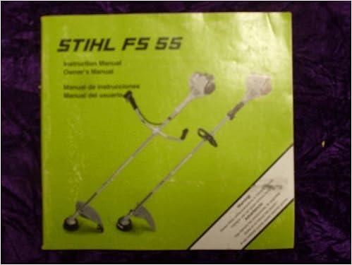 Stihl FS55 Instruction & OEM OEM Owners Manual: Stihl FS55: Amazon