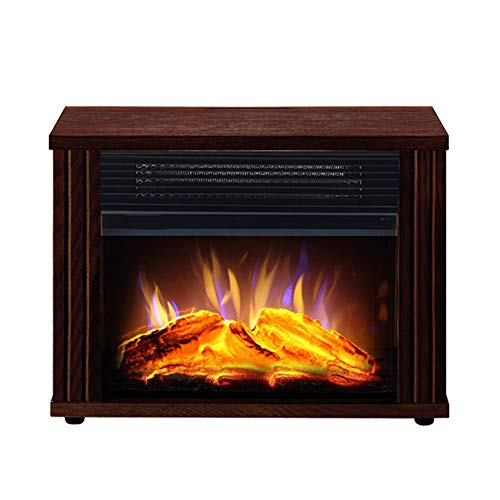 Cheap RKRGQ Electric Fireplace Electric Stove Fireplaces Log Burner Electric Fire Stove Freestanding Electric Fireplace Fire Wood Log Burning Effect Flame Heater Stove900/1800W Black Friday & Cyber Monday 2019