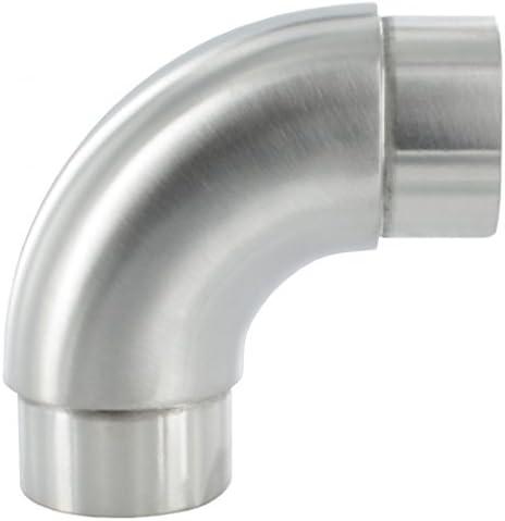 Rohrbogen 90/° rund f/ür Rohr 60,3 x 2,0mm