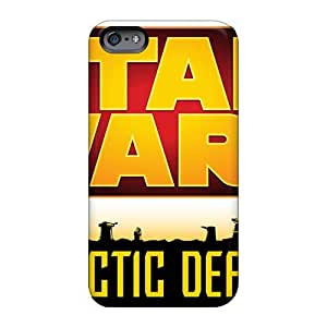 Bumper Hard Phone Covers For Iphone 6 (rVl2807NQdC) Unique Design High-definition Strat Wars Series