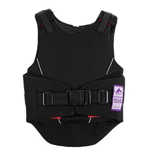 MonkeyJack Equestrian Horse Riding Safety Vest Protective Vest Body Protector for Kids - S/M/L - S