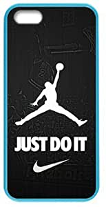 Cool Design NBA Chicago Bulls Air Michael Jordan Logo - JUST DO IT - Case Cover for Iphone 5/5S(Laser Technology) Design By WBQ STORE by supermalls