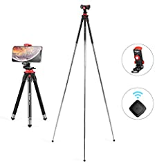 -How to set up the tripod: pull & turn left to lock(you can hear tik sound)-how to close the tripod: turn left & push upward to close!(just like fold your umbrella)attention the maximum load capacity: you need to make sure Ufo Lite tr...