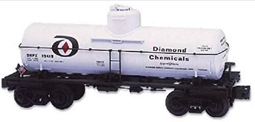 - Lionel 6-19626 8000 gallon Diamond Chemicals One Dome Tank Car Diecast sprung trucs
