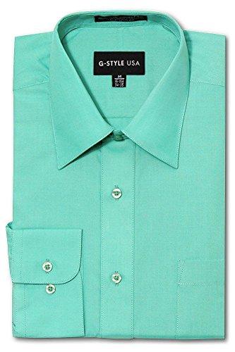 regular fit long sleeve solid